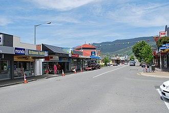 Richmond, New Zealand - The main street of Richmond, New Zealand