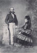 I genitori di Rilke, nel 1873