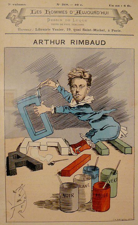 Fichier:Rimbaud Voyelles caricature.jpg