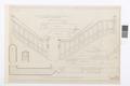 Ritning Grevens trappa, Hallwylska palatset - Hallwylska museet - 101058.tif