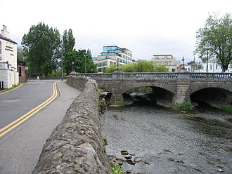 Henry Barry, 4th Baron Barry of Santry - River Dodder today