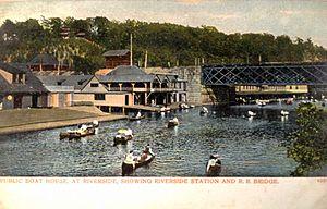 Riverside station on early postcard.JPG