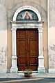 Rivignano Ariis Portal der Kirche Heiliger Jakob 27102007 03.jpg