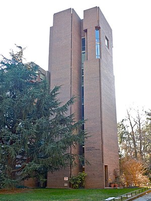 Richards Medical Research Laboratories -  Service tower for Goddard Laboratories