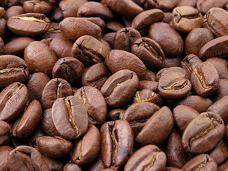 Granos de café tostado. 31c252a83c6