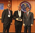 Robert Pearson & David Errington, AMI, Accept Video Programming Award (8291865719).jpg