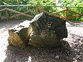 Rocca di Montopoli. Parti della Torre detta di Rocca o Barberia abbattuta nel 1944. (Pennacchi).jpg