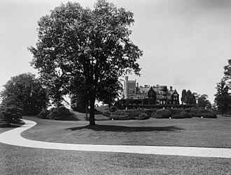 Rockefeller State Park Preserve - Rockwood Hall in 1916
