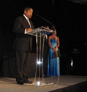 Roderick J. McDavis - McDavis speaks in Ohio University's Baker University Center (May 2009)