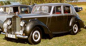 Rolls-Royce Silver Dawn 4-Door Saloon 1954
