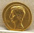 Roma, repubblica, moneta di m. antonius, 32-31 ac. oro.JPG