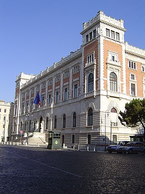Chamber of Deputies (Italy) - Image: Roma parlamento