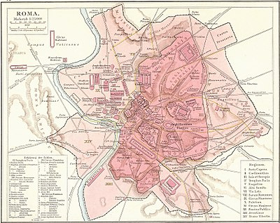 Location map Italy Rome Antiquity