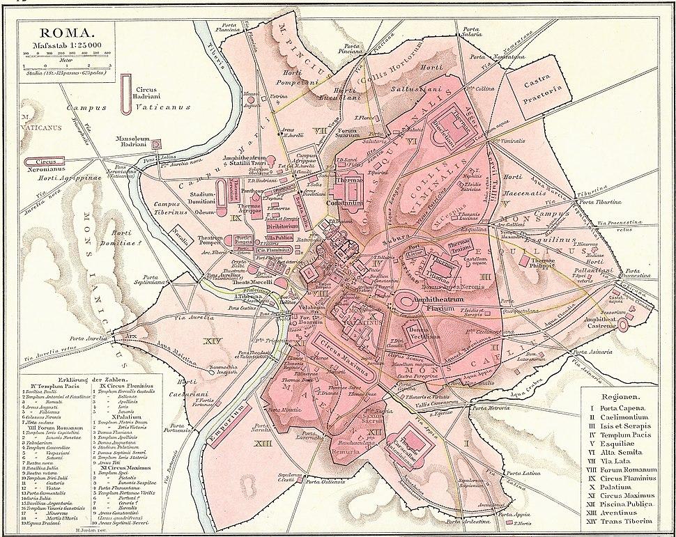 Circus Maximus is located in Rome