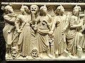 Roman sarcophagus (detail), Rome, 240-260 CE - Nelson-Atkins Museum of Art - DSC08221.JPG
