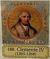Rome - Basiqlique Saint-Paul-hors-les-murs Portrait deu pape Clément IV.jpg