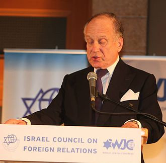 "Israel Council on Foreign Relations - WJC President Ronald S. Lauder speaking at ICFR event ""The Middle East Vortex: Views from Washington, Moscow and Berlin"""