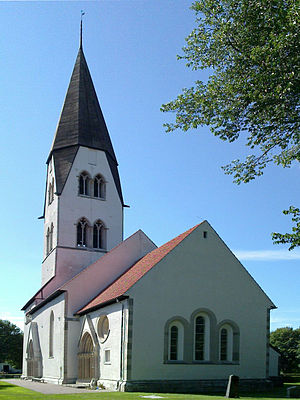 Rone Church - Image: Rone kyrka Gotland total 1