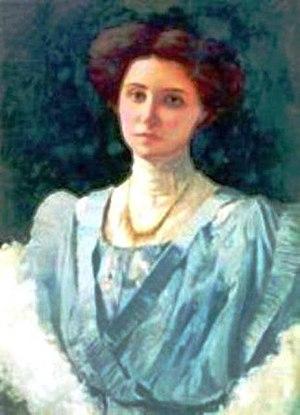 Rosa Borja de Ycaza - Image: Rosa Borja Febres Cordero de Icaza (Ycaza), retrato
