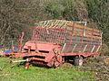 Roter Einachs-Ladewagen, 2012.JPG
