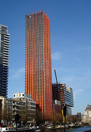The Red Apple - Image: Rotterdam toren red apple