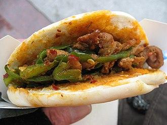 Shaanxi cuisine - Image: Roujiamo