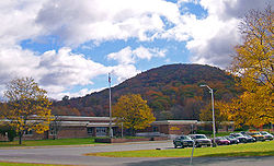 Round Hill from New York State Route 208 in 2006