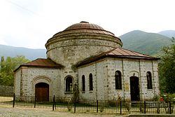 Sabiq Nuxa Üçmüqəddəs kilsəsinin binası, 2013-cü il.