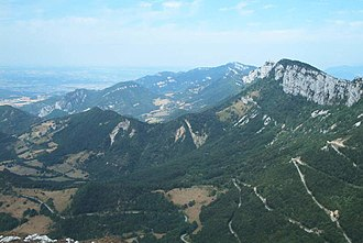 Maquis du Vercors - The route over Col de Tourniol.