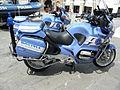 Rovigo, festa della Polizia di Stato 2011, moto BMW vista laterale.JPG