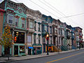 Rowhouses on Lark Street, Albany, NY, at Christmastime.jpg