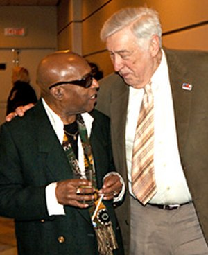 Roy Haynes - Roy Haynes (left) and Gunther Schuller in 2008