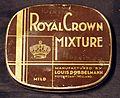 Royal Crown Mixture tobacco blikje, Louis Dobbelmann, Rotterdam pic2.JPG