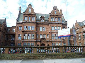 Royal Hospital for Sick Children, Edinburgh - Image: Royal Hospital For Sick Children, Sciennes