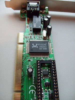 100 Mbit Ethernet card, chip Realtek RTL8139D