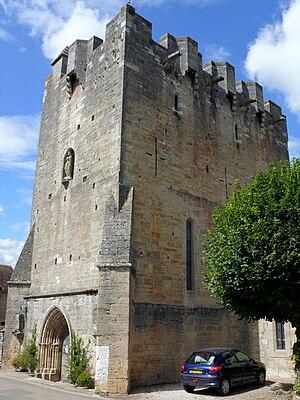 Bretèche - Image: Rudelle Eglise 3