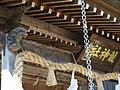 Ryu Shrine sculpture and inscribed board in Fukudomi, Shiroishi.jpg