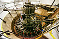 Sál elektrárny - Francisova turbína uložení.jpg