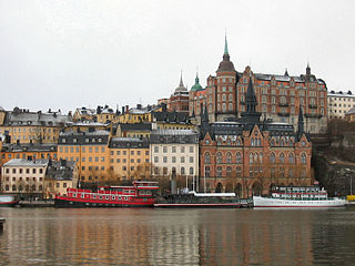 island and urban district in Stockholm, Sweden