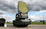 9S19M2 Imbir acquisition radar.