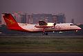 S2-AHB Bombardier Dash 8-Q311 Regent Airways Landing (8864557743).jpg