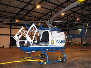 South African Police Service - SAPS Bo 105 helicopter