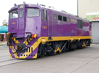 South African Class 6E1, Series 5 - No. E1629 at Koedoespoort, Pretoria, Gauteng, 8 October 2009