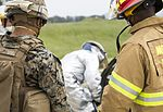 SPMAGTF-CR-AF Marines & Spanish firefighters conduct vehicle extrication training 160427-M-QM580-018.jpg