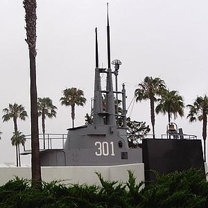 SS 301 Submarine Memorial at Point Loma