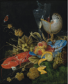 STILL LIFE WITH LOBSTER, FRUIT AND A NAUTILUS SHELL.PNG