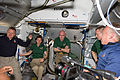 STS-133 ISS-26 crew members shortly after the hatches were opened.jpg