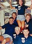 STS-41-D Crew Enjoying Space - GPN-2004-00024.jpg