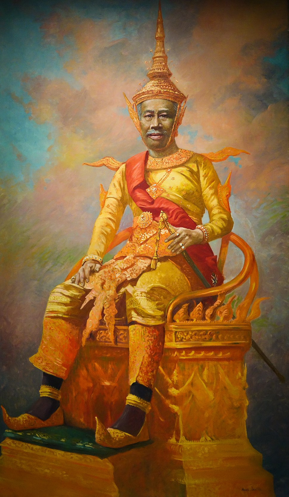 Sa Majesté Sisowath Monivong