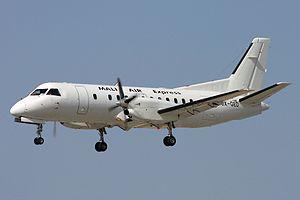 Mali Air Express - Mali Air Express Saab340A at Faro Airport